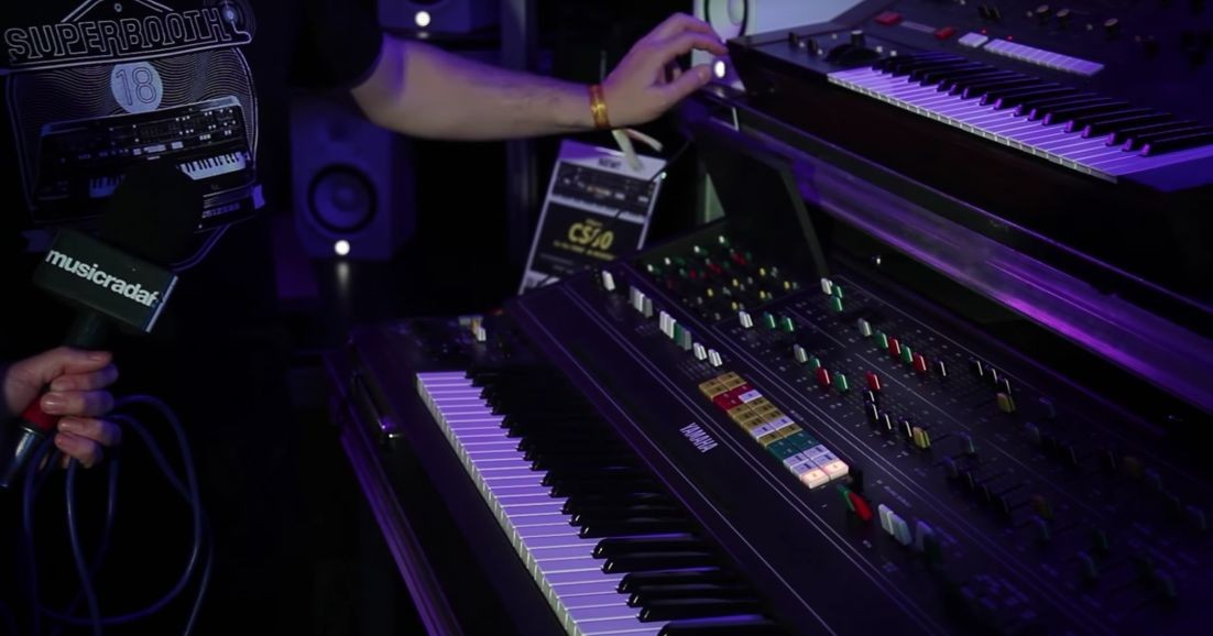 SynthBits: Yamaha Synthesizer Museum @ Superbooth18