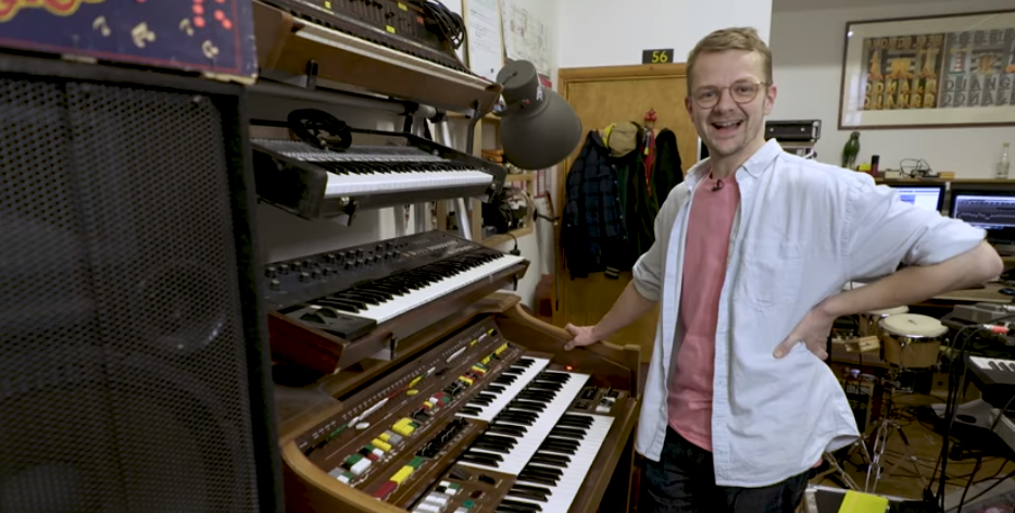 Synthbits: Django Django's Tommy Grace on His Rare Yamaha D85 Organ