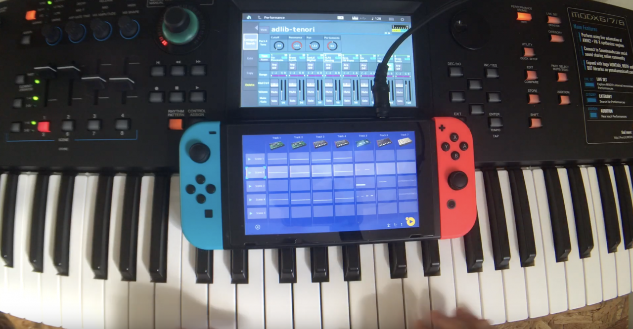 Synthbits: The Brackett, MODX and Nintendo Switch