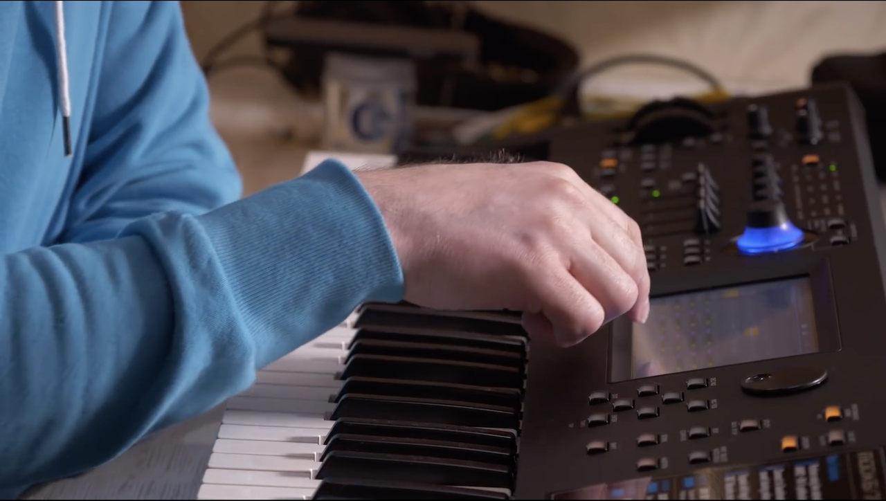 SynthBits: Anders Enger Jensen and Paolo Di Nicolantonio Jam With MODX and TR-8S