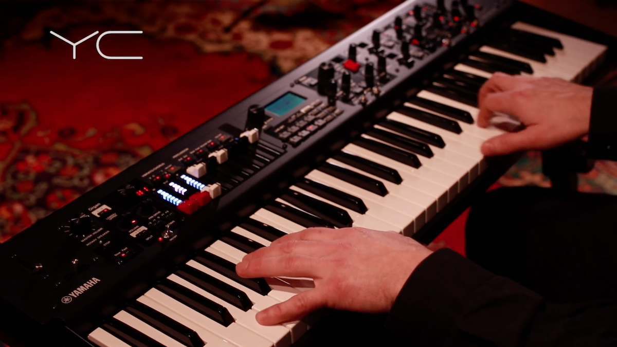 YC61 Stage Keyboard: Live Set Sounds Video