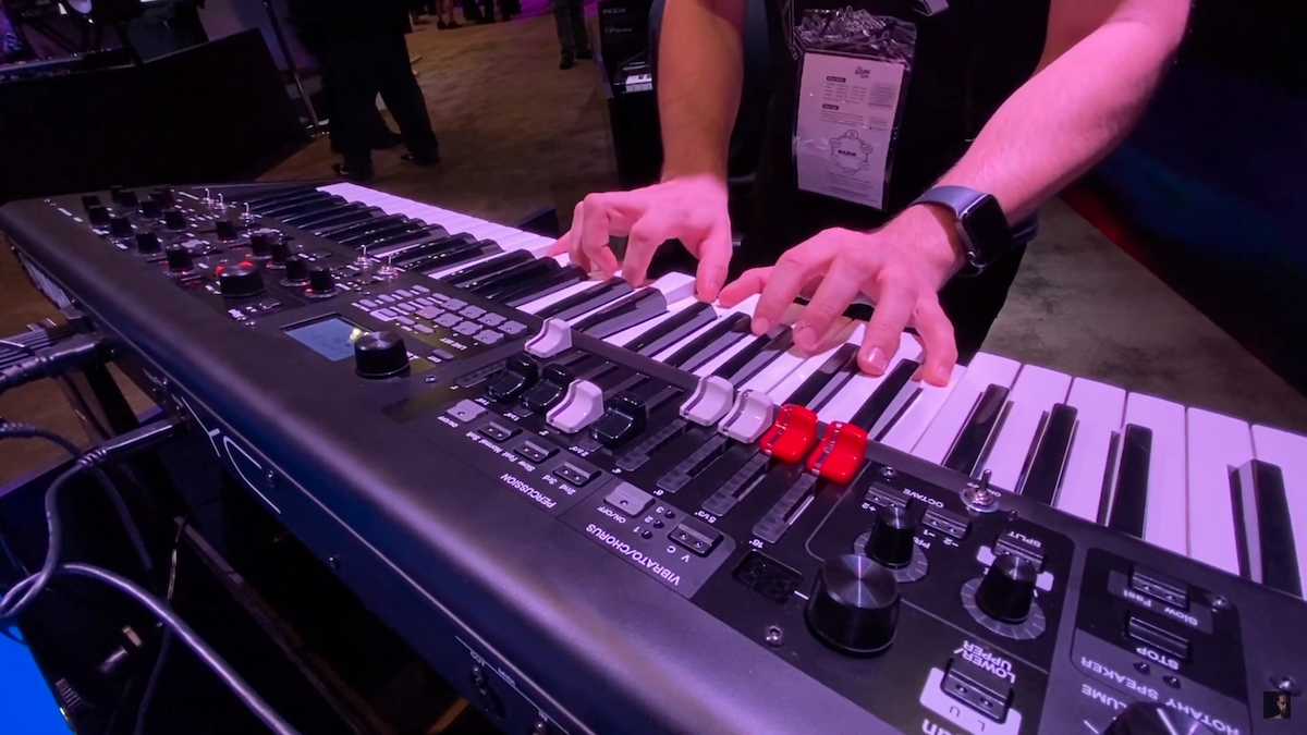 SynthBits: Dom Sigalas Explores the YC61 Live Set Sounds