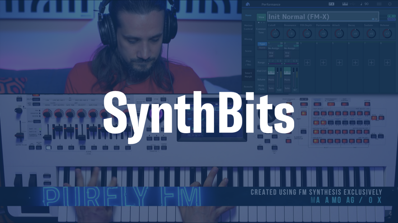 SynthBits: Dom Sigalas FM Synthesis Mega Tutorial
