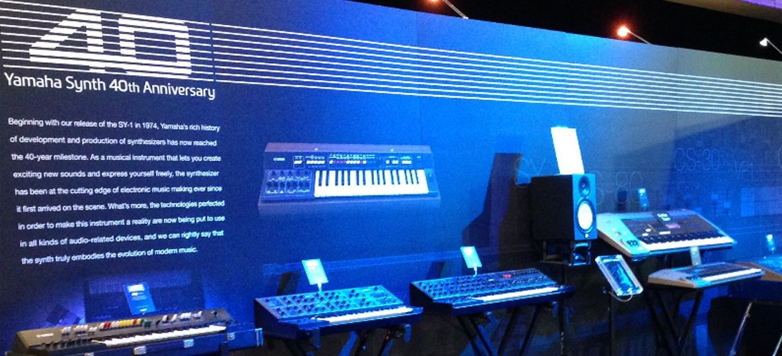 CELEBRATING 40 YEARS OF OUR SYNTHS AT WINTER NAMM 2015