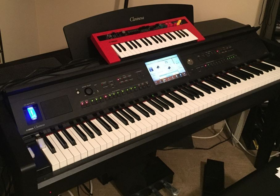 Reface YC and the Clavinova 700 Series Session