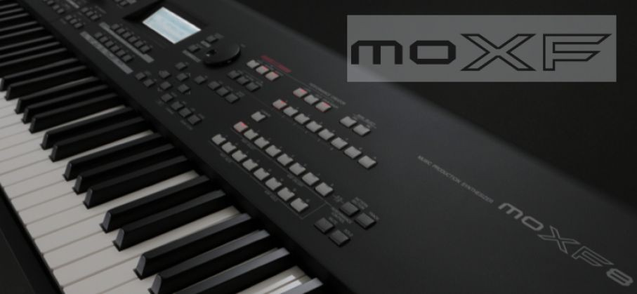 Loading the Motif XF CS80 Library to the MOXF