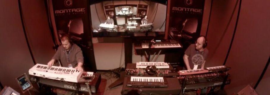 Synthbits - Soundmit 2017: Álvaro Gandul and Manuele Montesanti Duet!