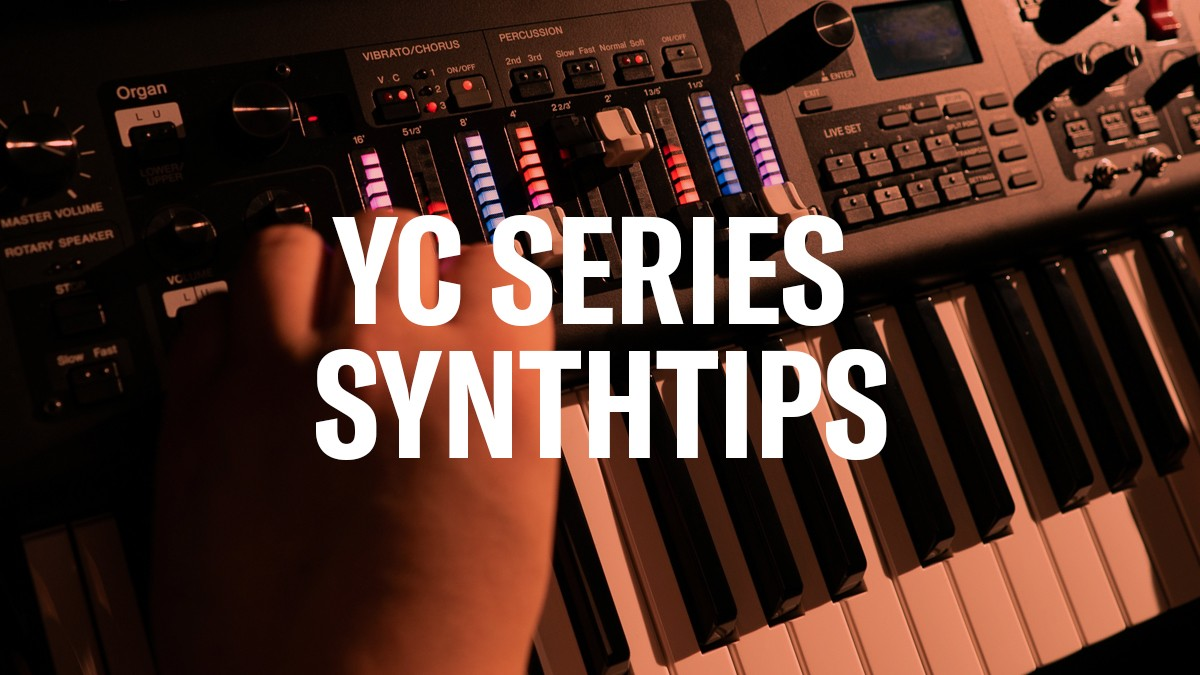 YC SynthTips: Deactivate Sustain Pedal