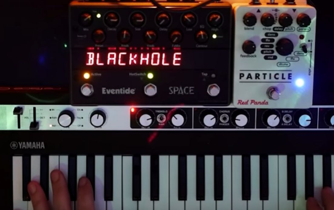 Synthbits: The Blackhole Effect with reface CP